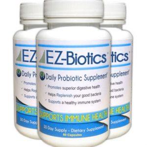 EZBiotics 90 Day Supplement
